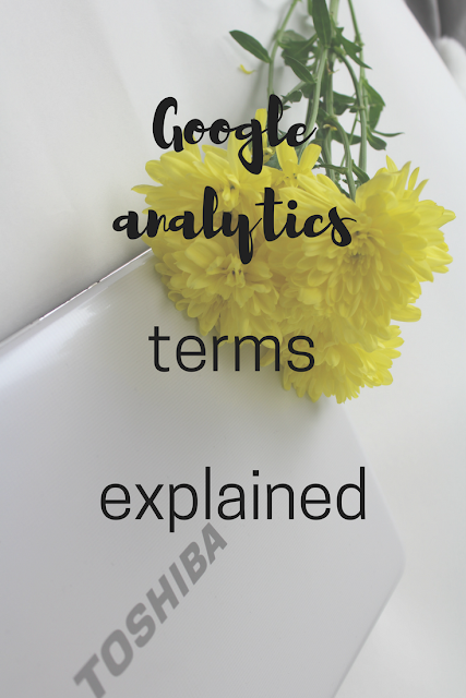 Key Google Analytics terms explained