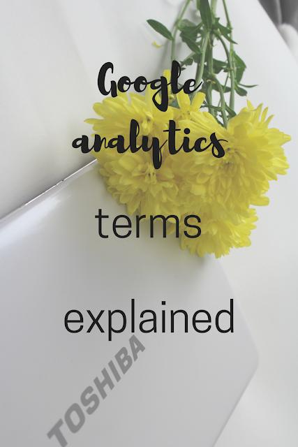 Key Google Analytics terms explained
