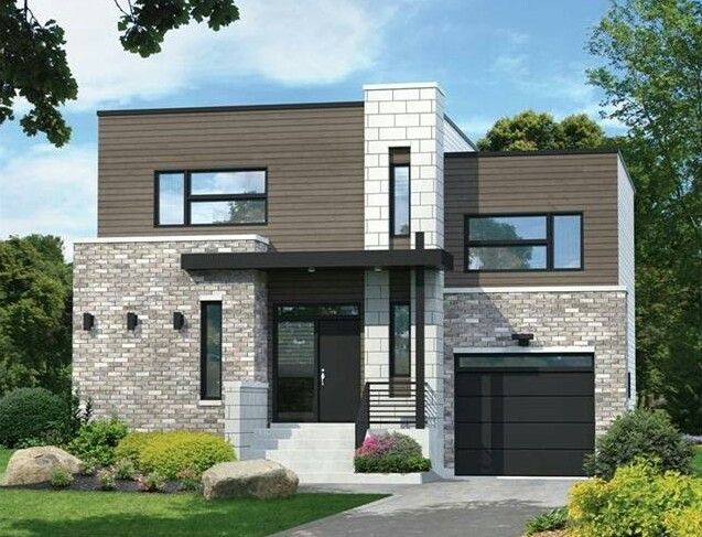 Simple Two-Story Minimalist House