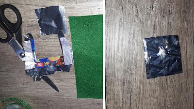 créer un support toucherpapier bonbon boite sensorielle éveil enfant