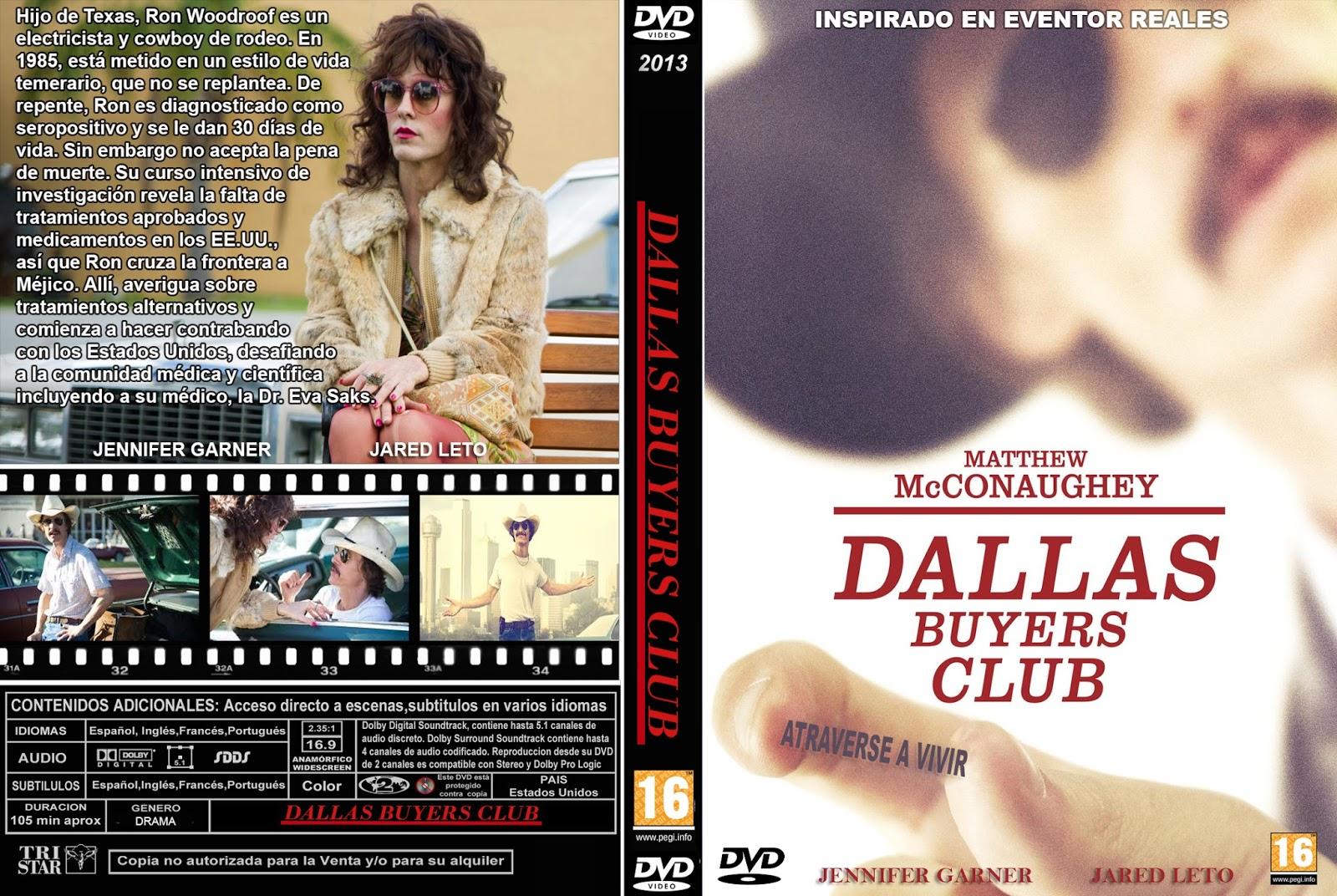 PB   DVD Cover / Caratula FREE: DALLAS BUYERS CLUB - DVD ...   1600 x 1072 jpeg 484kB