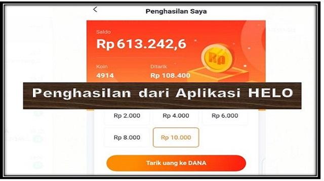 Aplikasi Penghasil Uang Langsung ke Dana