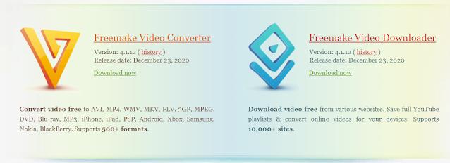 Freemake Youtube Video Downloader विशेषताएं: