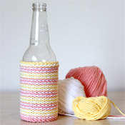 free knitting pattern for beer cozy
