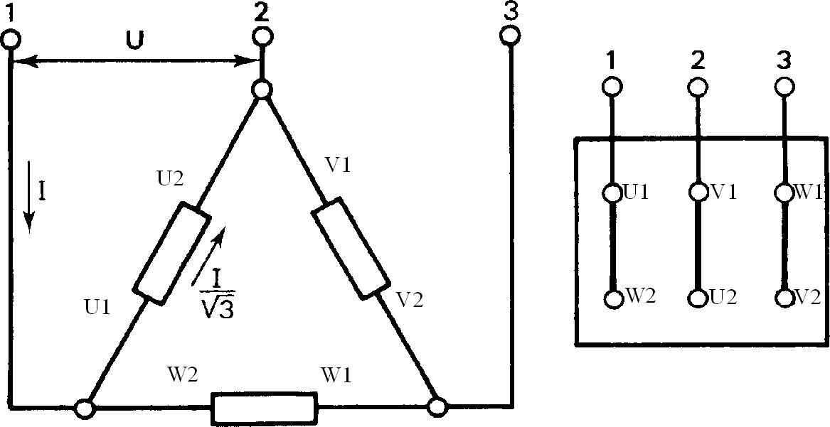 d u00e9marrage direct des moteur asynchrones triphas u00e9 vitesse de rotation un sens et deux sens de