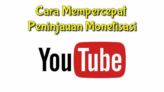 Cara agar channel youtube cepat dimonetisasi