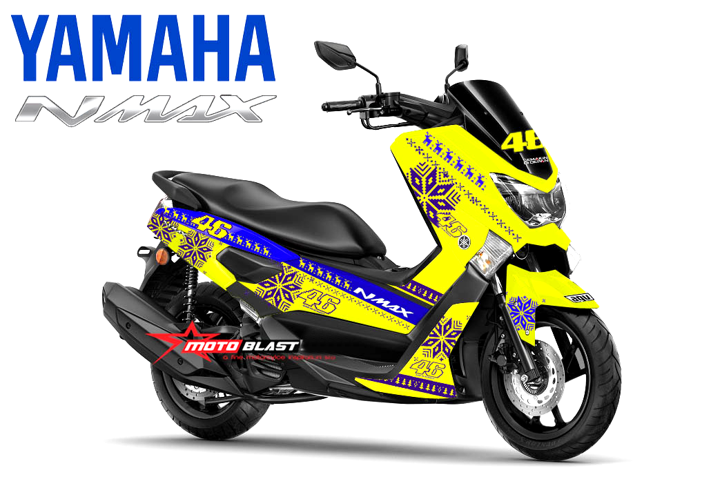 Gambar Modifikasi Motor Yamaha NMax Terbaru  Modifikasi