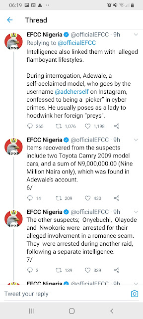 adeherself arrested by efcc