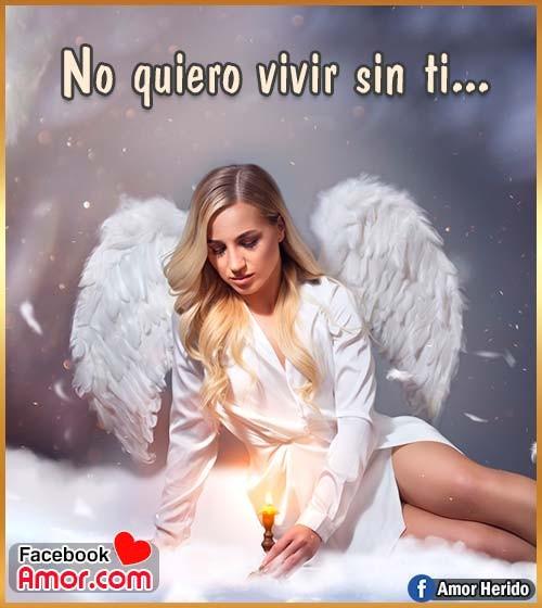 imágenes bonitas de ángel frases