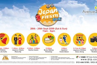 Experience Japanese Culture with Fun Activities at Japan Fiesta in BTP Sales Gallery Rawang