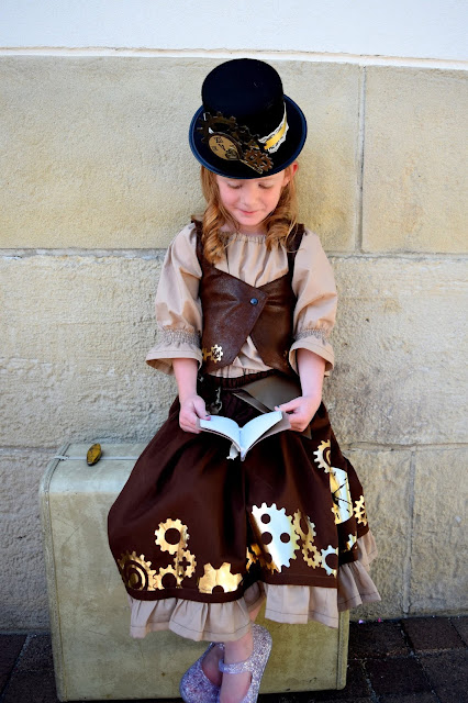 little girl steampunk costume