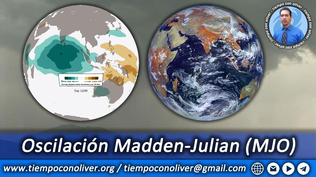 Oscilación de Madden y Julian (MJO)