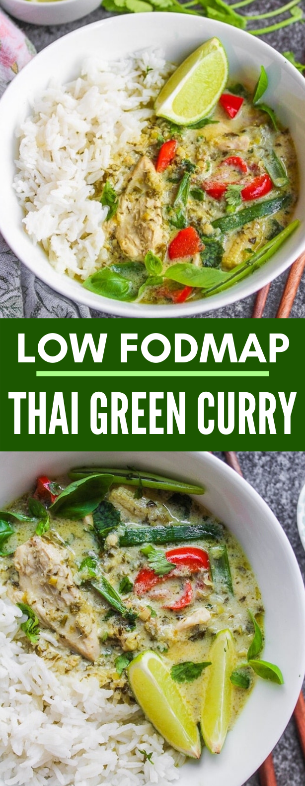 LOW FODMAP THAI GREEN CURRY #healthy #lunch