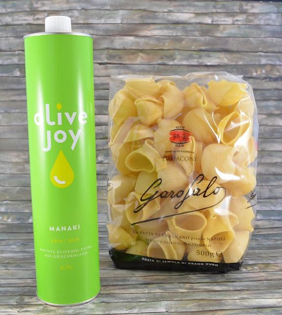 Degustabox April '16 Olivenöl und Nudeln