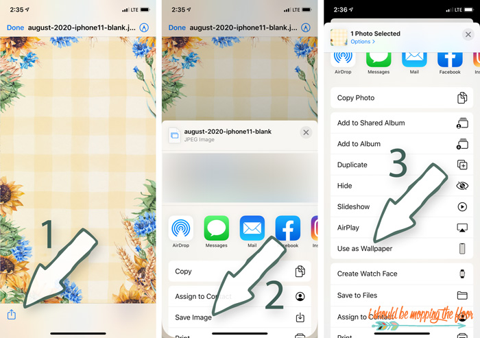 How to Change Wallpaper on an iPhone or iPad