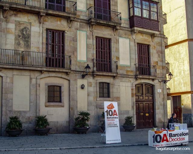 Convocação para uma consulta popular sobre a independência da Catalunha, em 2011