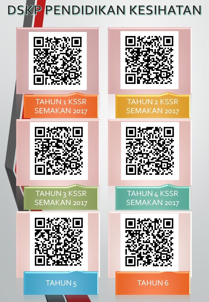 Qr Code Dskp 2020 Semua Matapelajaran Sekolah Rendah Layanlah Berita Terkini Tips Berguna Maklumat