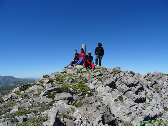 Cumbre del Pico Cirbanal