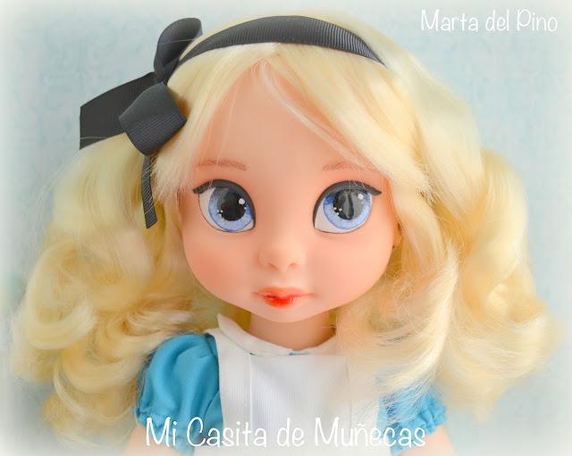Disney Animators, Alicia en el País de las Maravillas, Cenicienta, OOAK, repaint, vestido, Mi casita de muñecas, Marta del Pino