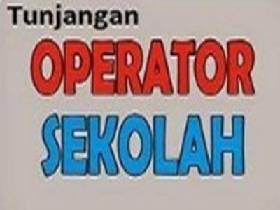 APBD Memberikan Dana Insentif Kepada Operator Sekolah