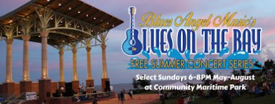 Blues on the Bay – Summer Concert Series, Pensacola Florida Community Maritime Park