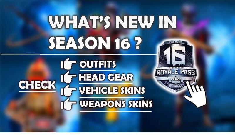 Pubg Mobile season 16 new features