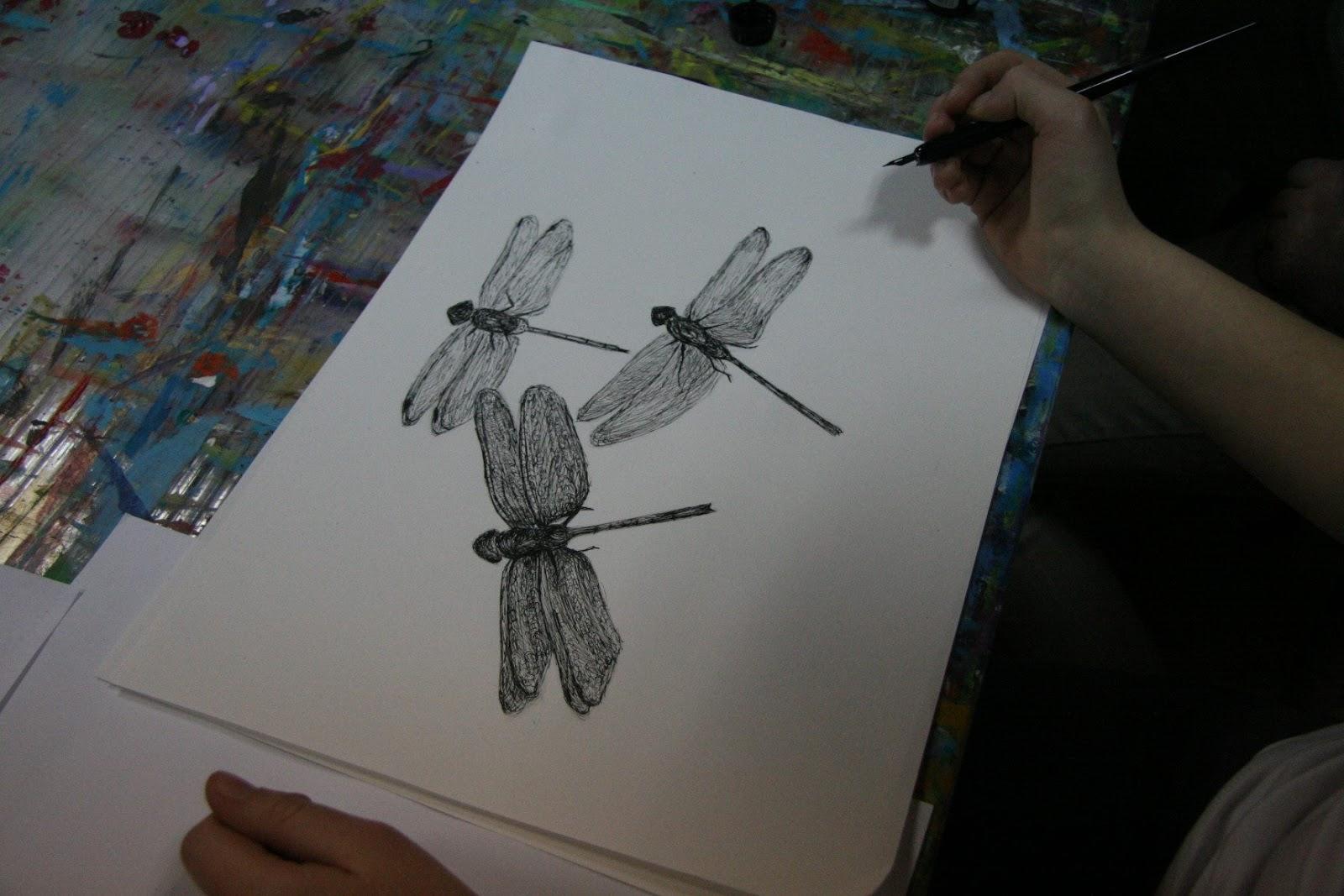 Magda Vacariu Students Artworks