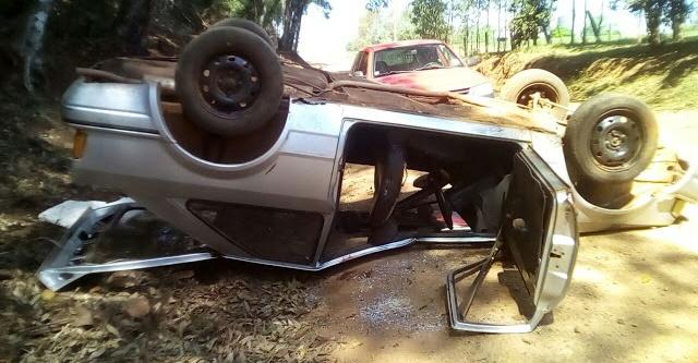 Roncador: Três pessoas ficam feridas em acidente na PR-239