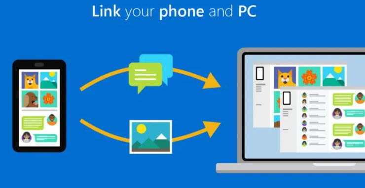 استخدام, تطبيق, ربط, الهاتف, بالويندوز, Microsoft ,Your ,Phone