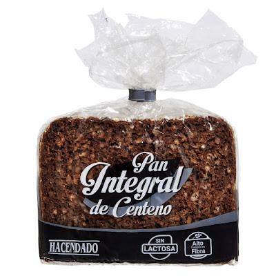 Pan integral de centeno Hacendado