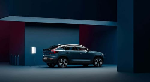 C40 Recharge ... the second electric car from Volvo