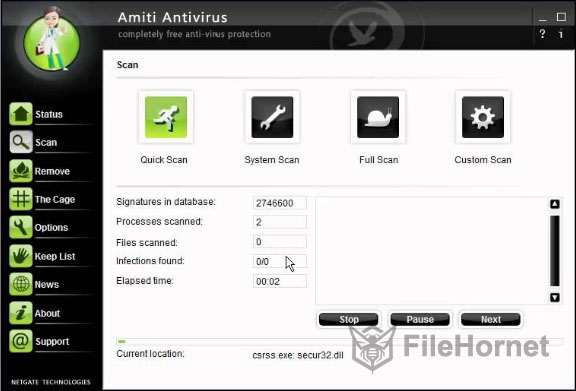 Download Amiti Antivirus 2020 for Windows