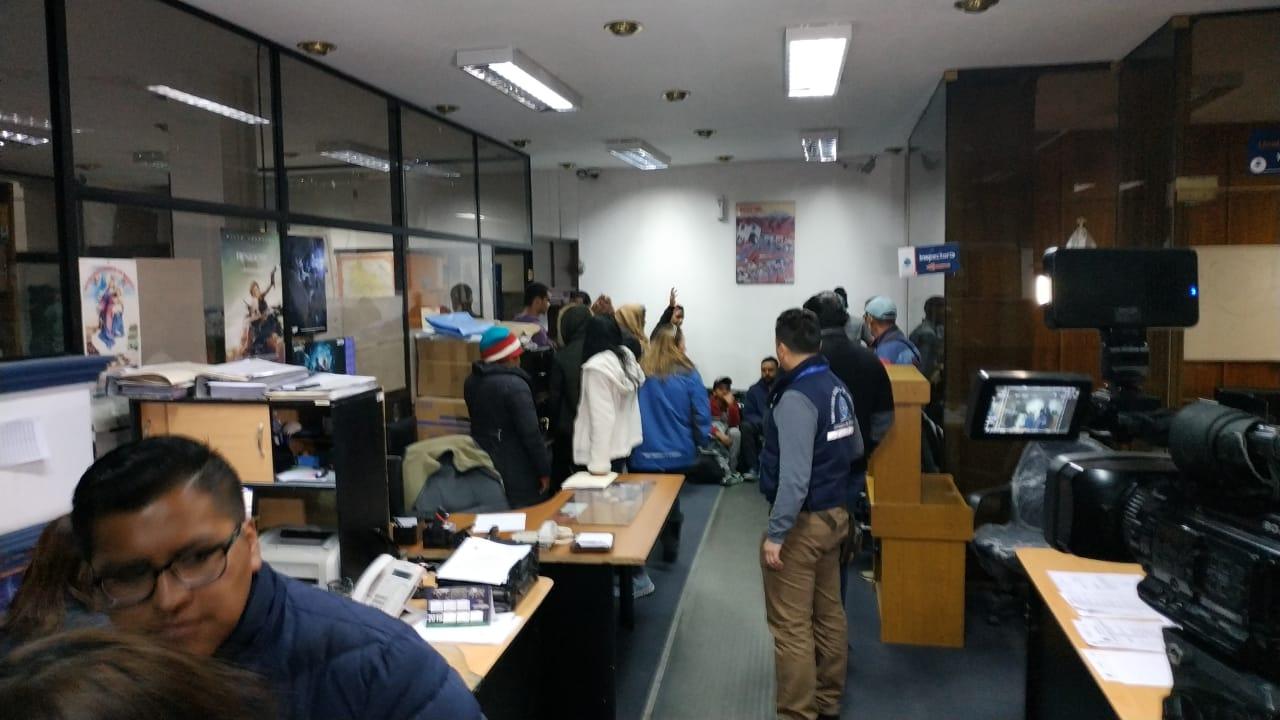 Migración detectó en el primer día cerca de 50 súbditos extranjeros indocumentados / ÁNGEL SALAZAR