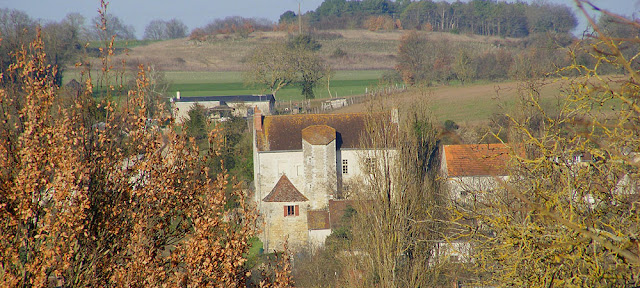 Manoir du Pont, Abilly, Indre et Loire, France. Photo by Loire Valley Time Travel.