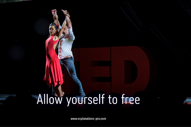 Allow yourself to free