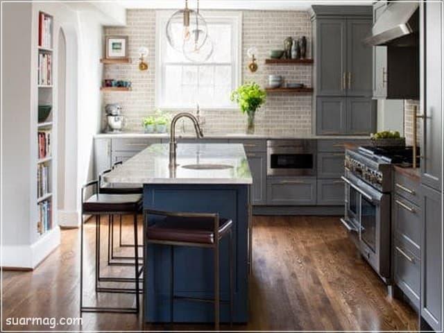 مطابخ مودرن خشب 8   Modern Wood kitchens 8