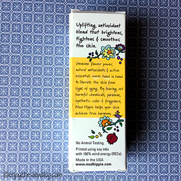 Mad Hippie Vitamin C Serum box