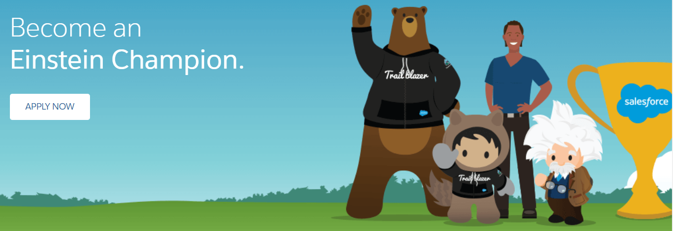 Salesforce Einstein Champions