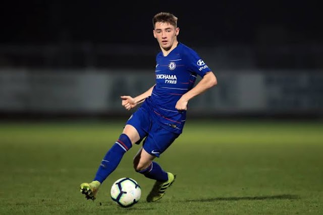 Billy Gilmour Officially Moved To Chelsea First Team