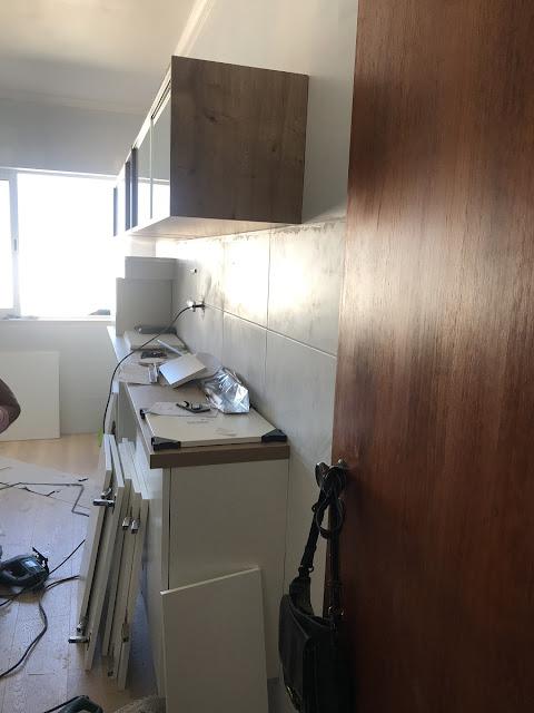 obras na cozinha pela Eilar