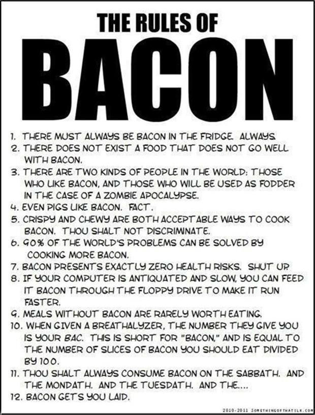 The Rules of Bacon Picture