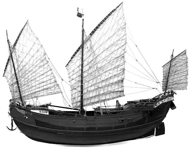 kapal jung, perahu jung, perahu cina