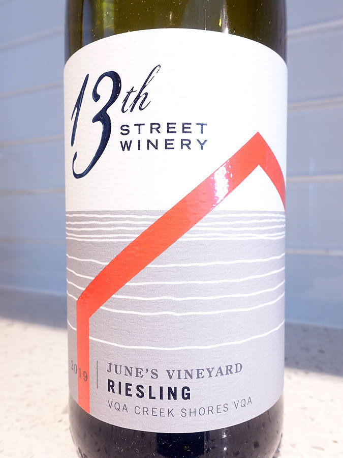 13th Street June's Vineyard Riesling 2019 (90 pts)