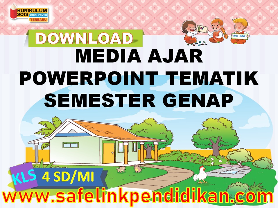 Media Ajar Powerpoint Tema 6 7 8 9 kelas 4 sd/mi