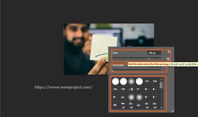menghapus tulisan di photoshop clone stamp tool