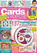 Proud to be published and on the cover of Issue 183 Simply Cards & papercraft