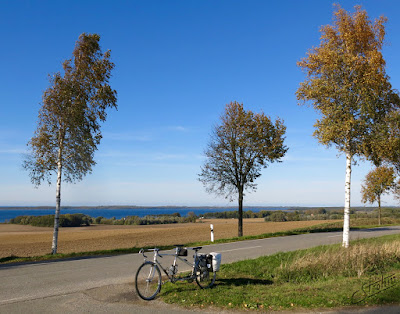 View on the Baltic Sea - Peugeot Tandem