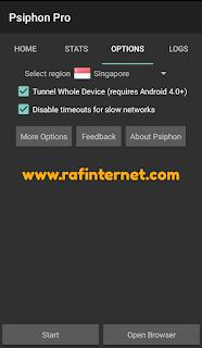 Cara Setting Psiphon Pro Telkomsel OMG 2019