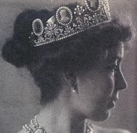 cameo tiara empress josephine france sweden crown princess margaret