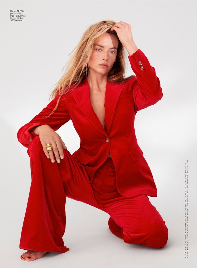 Hannah Ferguson Featured for Elle Magazine, Summer 2020
